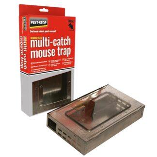 PS Flerfangstfælde i metal til mus