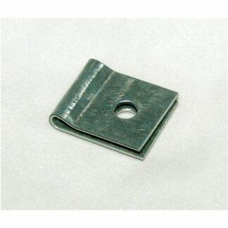 Metal netholder 6mm hul - 50 stk/ps