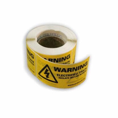 Advarselsskilte til vinduer 100 stk/pk - Avishock