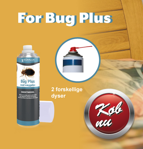 For Bug Plus – mod væggelus
